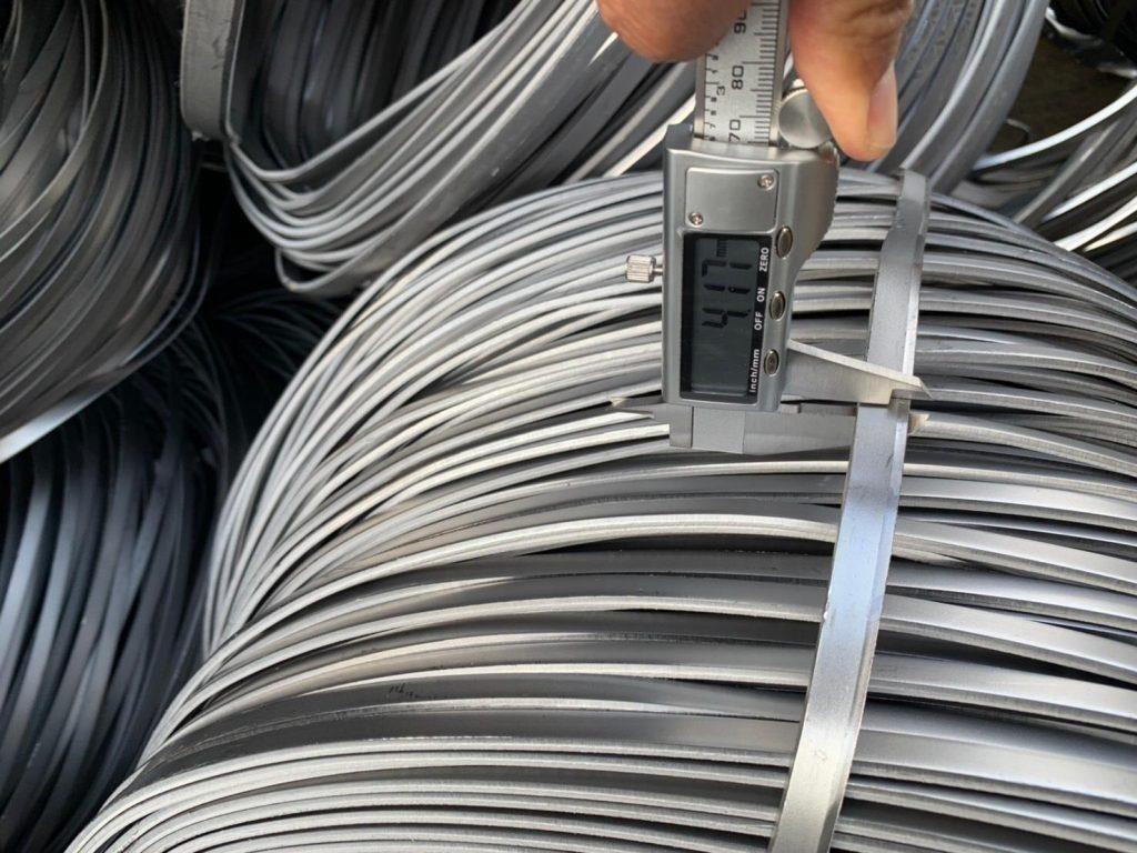 hr trimming side coil cutting scrap metal