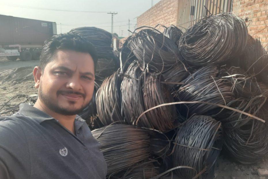 Hr trimming scrap metal for export